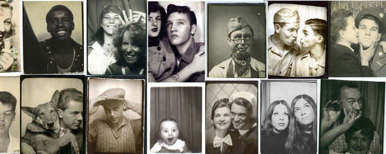 history of photo booth vintage